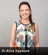 Dr Alice Hayward